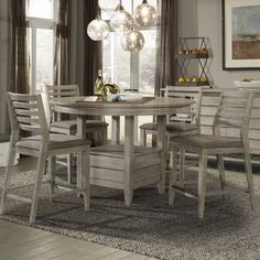 Cresent Furniture Corliss Landing Dining Table & Reviews | Wayfair