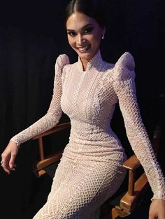 traditional filipina-inspired gown by Michael Cinco for Pia Wurtzbach