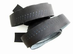 Busyman Bicycles: Black Bar Tape with Shades of Blue