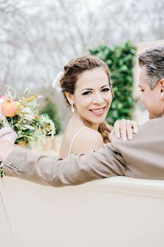 sweet happy bride wedding photo idea