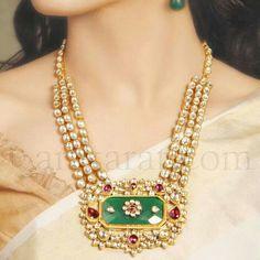 Like it Indian Wedding Jewelry, Indian Jewelry, Bridal Jewelry, Crystal Jewelry, Pendant Jewelry, Beaded Jewelry, Gold Jewelry, Antique Jewellery Designs, Jewelry Design