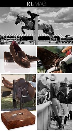 Thoroughbred Style: Ralph Lauren magazine explores the grace and vigor of the equestrian lifestyle and showcases the timeless products synonymous with the sport
