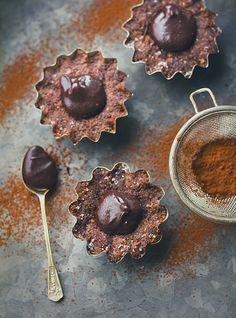 Bakelser med Chokladkolasås (Fria från Gluten/Raffinerat socker)