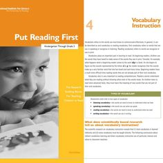 The vocabulary chapter (29-39) effectively describes the vocabulary subtypes. The vocabularies identified range from speaking to writing and can appear vastly different. A student can have an expansive speaking vocabulary, whereas the words they include in their writing are repetitive. I believe it is crucial for educators to be aware of the subtypes because they can influence instruction. Children with deficits in their writing vocabulary may benefit from personal dictionaries.