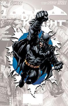 DC's September 2012 SOLICITS Preview: BATMAN