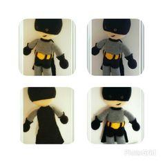 Amigurumi crochet doll toys animasyon animal soft pattern amigurumi crochet batman