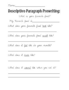 What are some good topics to write a descriptive essay on?