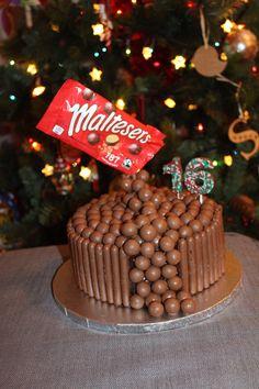 Maltesers Gravity cake