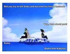 Goku always brings out the good in everyone