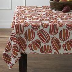 Pumpkin Patch Tablecloth