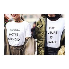 The Future is Female! #InternationalWomensDay #iwd2017 #statementshirt  via ELLE GERMANY MAGAZINE OFFICIAL INSTAGRAM - Fashion Campaigns  Haute Couture  Advertising  Editorial Photography  Magazine Cover Designs  Supermodels  Runway Models