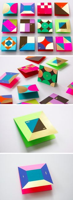 Thank You Cards by Ken Lo #graphicdesign #printdesign
