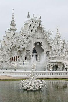 Wat Rong Khun, Chiang Rai Province, Thailand.