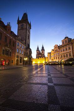 "czechthecount: ""Prague Waking Upby czechthecount: instagram   facebook   500px   society6 """