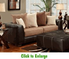 Sea Rider Saddle Sofa by Affordable at Furniture Warehouse | The $399 Sofa Store | Nashville, TN