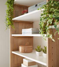 Kave Home Caja Ems, en Madera - Gris Grand Vase En Verre, Vase Deco, Vase Design, Sweet Home, Shelves, Sansa, Ems, Unique, Home Decor