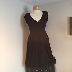 "Ruby Rox Black Dress. Size Large Excellent Condition Ruby Rox Black Dress. Size Large. Ties in back. 1 1/2"" tulle around bottom. Whole dress is 37"" long. Poly/spandex. Ruby Rox Dresses Midi"