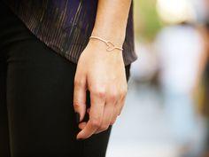Sterling Silver Heart Bracelet by Zoe Chicco from Ali Fedotowsky on OpenSky
