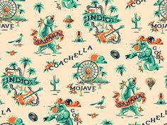 Coachella pattern