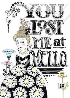 Lost Me Lady Engeldark Card