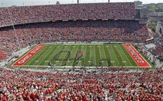 The Ohio State Stadium. - Gives me chills!