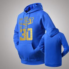 NBA Golden State Warriors Stephen Curry THE WEST CURRY #30 pullover hoodie
