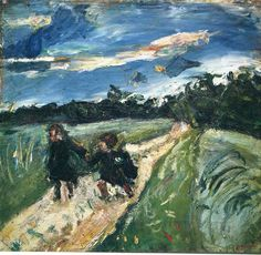 Chaim Soutine - Return From School After The Storm