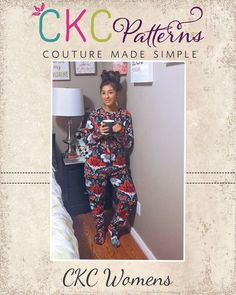 Create Kids Couture - Colbie's Adult Cozy Footed Jammies PDF Pattern, $8.00 (http://ckcpatterns.com/colbies-womens.html)