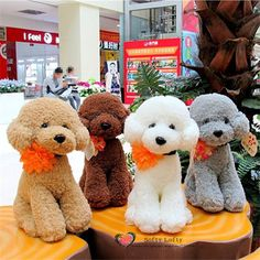 Free shipping 1PC Retail Life like Teddy Poodle Dogs Bichon Frise Plush Toy stuffed warm soft animals kids birth christmas gifts //Price: $US $13.66 & FREE Shipping //     #clknetwork