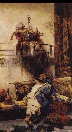 JOSÉ JIMÉNEZ de ARANDA - Dibujante y pintor español - 1837-1903