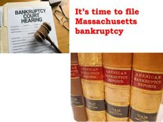 Know your legal ways to file Massachusetts bankruptcy . all you need to so is to dig out the right professional to take care of your need. http://www.slideshare.net/bankruptcycenter/bankruptcy-29131871