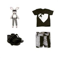 """Baby G in black and grey #ladedahkids #greynorthshop #donsje #donsjeamsterdam #burberry #babyfashion #babystyle #babymode  #babywear #instababy…"""
