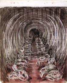 Henry Moore, sketchbook page