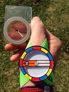 Compas for fast navigation om the woods.