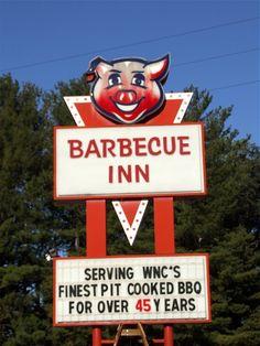 Barbecue Inn...Asheville, North Carolina