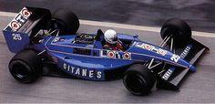 1988 Ligier JS31 - Judd (Rene Arnoux)