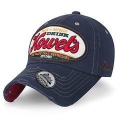 6f6aa2dc46099f Drink howel's distinctive embroidery patch at the back of cap. simple,  versatile and classic cap. Style: highly raved HOWEL'S classic snapback baseball  cap ...