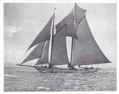 """The schooner """"Martha"""""""