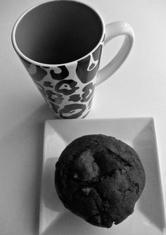 Vegan Black Forest Chocolate Chip Cherry Muffins by Veganville, $16.00