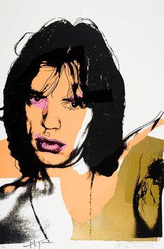 Warhol, Mick Jagger