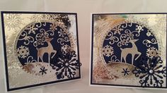 Bits and Bobs: Christmas cards - I'm in the zone ......