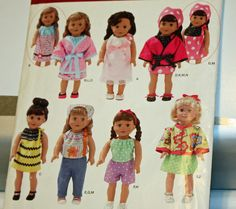 Simplicity 0476 Simplicity  2302 Sewing Pattern 18 Inch