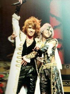 Twitter / W_S_Kamijo: Kamijo & Teru ♥ ~~ ...