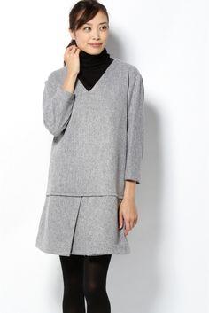 IENAのRUE BLANCHE Vネックワンピースを通販するなら ファッション通販 スタイルクルーズ(Style Cruise) 。2014AW<br /> RUE BLANCHE(リュ ブランシュ)<br /> 1987年に設立されたベルギーのファッションブランド<br /> デザイナーはMarie-Chantal Regout<br /> コットンやリネンなどのナチュラルな素材と美しい発色がポイントです<br /> 着る人の毎日のワードローブに馴染むような、シンプルながらラグジュアリーなアイテムが揃っています<br /><br />IENAの商品は、IENA実店舗のみの取り扱いになります。<br />また、IENA SLOBEの商品は、IENA SLOBE実店舗のみの取り扱いになります。<br /><br />モデルサイズ:身長:170cm バスト:80cm ウェスト:58cm ヒップ:85cm 着用サイズ:フリー<br />