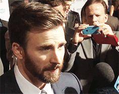 Chris Evans, Captain America, Interview, Cute, Kawaii