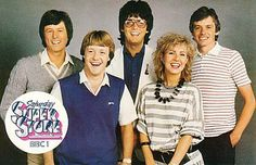 Saturday Superstore - I had a letter read out on it by Sarah Greene but we were out and I missed it, no iplayer back then.