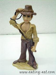 Indiana Jones porcelana fria polymer clay