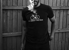 'Rocking the road T' Even off the #bike - it's all about the ride!  #AATR #allabouttheride #cycling #bicycling #cyclinglife #roadcycling #mtb #cycletography #sonyxperia #Xperia #snapseed #blackandwhitephotography #tshirt #custom #customdesign #clothing #logo