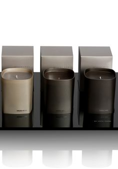 Sparkling Moka collection, scented candles by Ex Voto Paris _