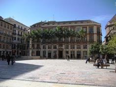 Plaza Constitucion, Malaga, Spain